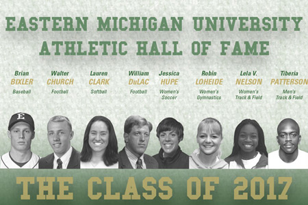 Athletic Hall of Fame Class of 2017 Inductees